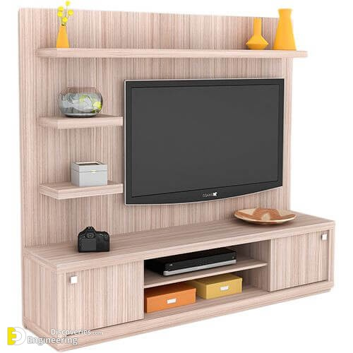 Amazing 30 TV Stand Design Ideas - Engineering Discoveries