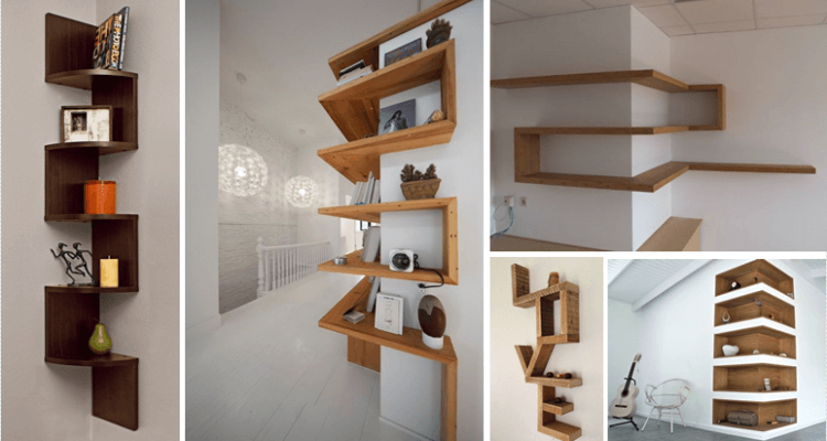 35 Smart Corner Shelf Design Ideas That Will Change Your
