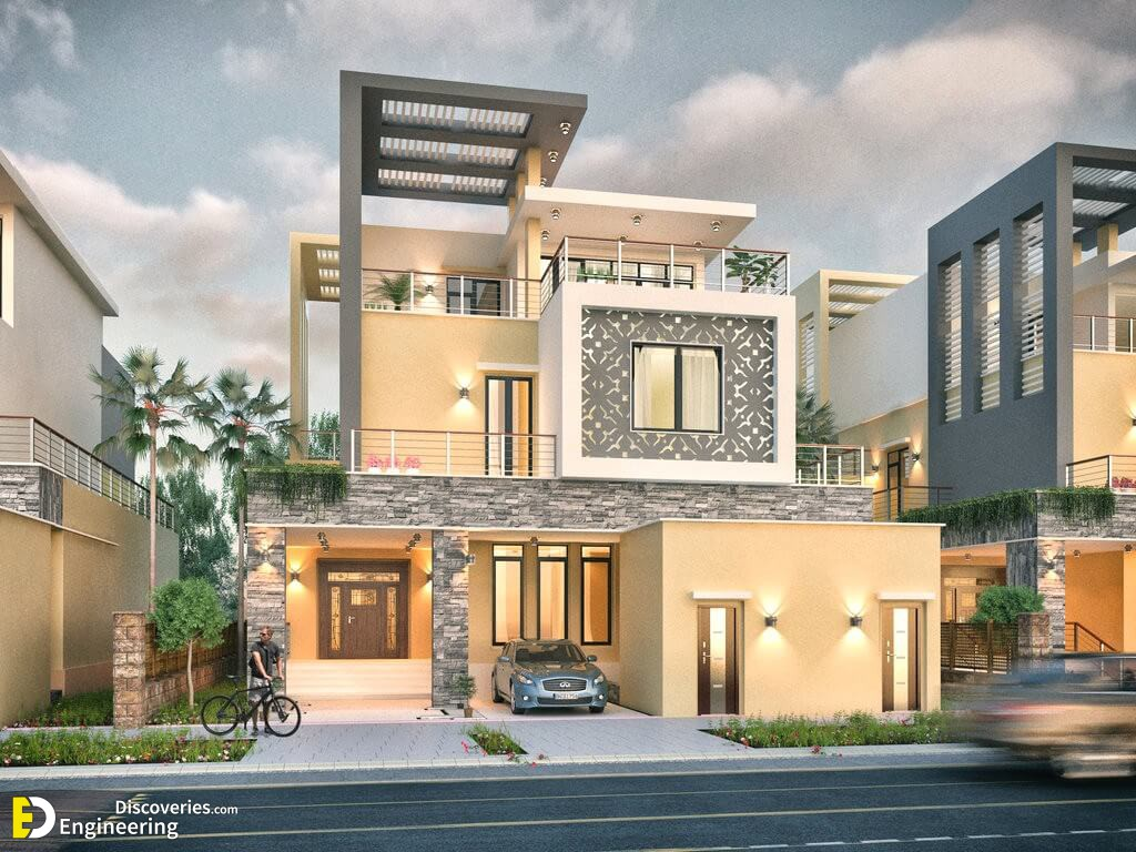 Latest Modern Houses Exterior Design Ideas - Engineering