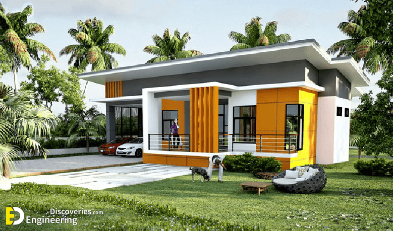 Modern Single Storey House With Plan - Engineering Discoveries