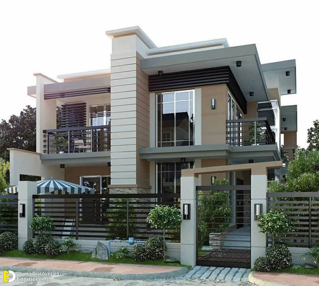 Modern Houses Exterior Design Ideas