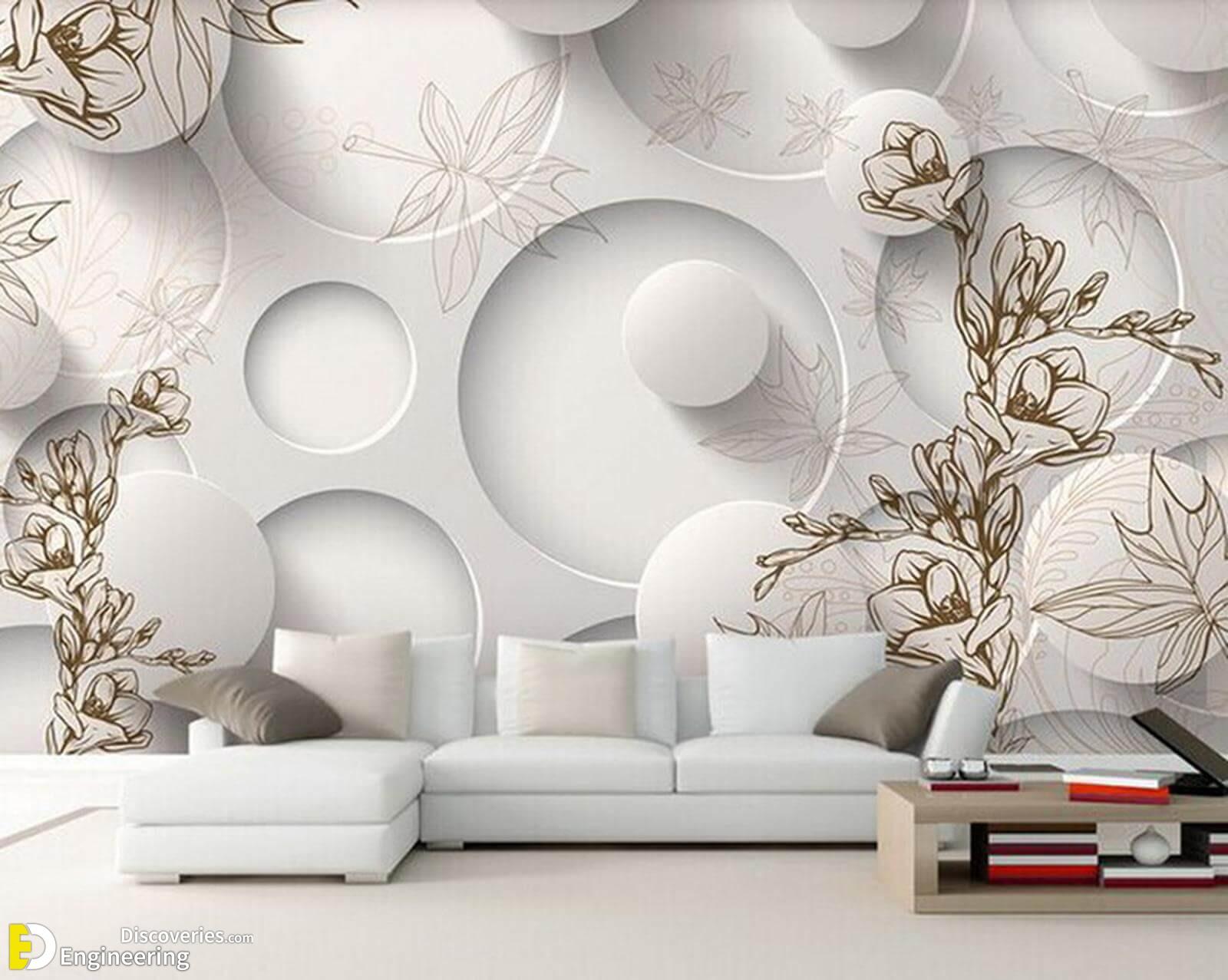 Modern Luxury 3D Wallpaper Circle Design for Living Room.jpg