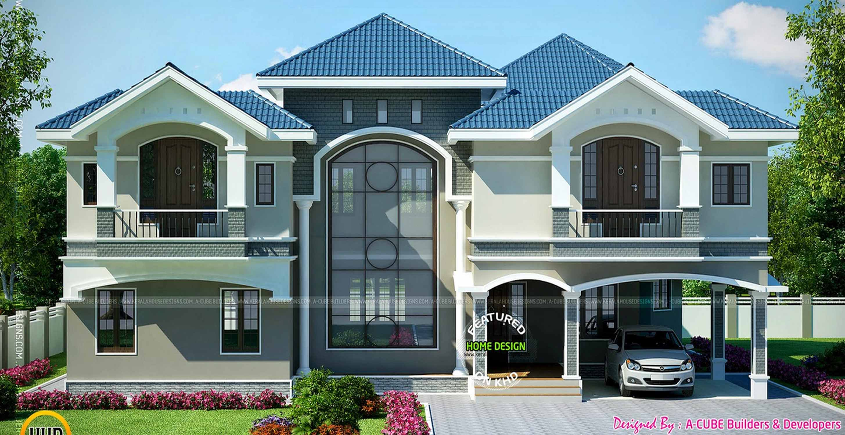 . Modern Beautiful Duplex House Design   Engineering Discoveries
