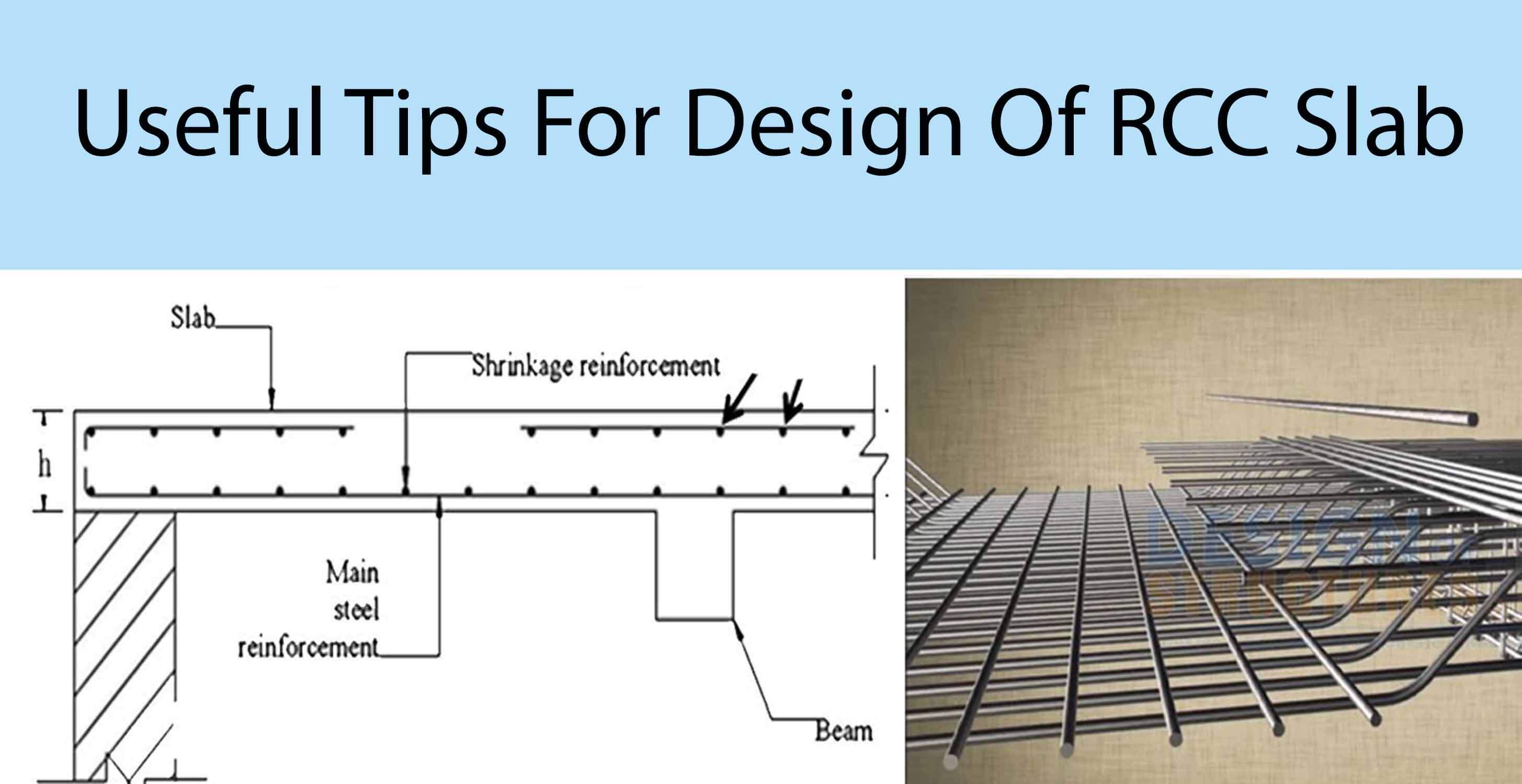 Useful Tips For Design Of RCC Slab - Engineering Discoveries