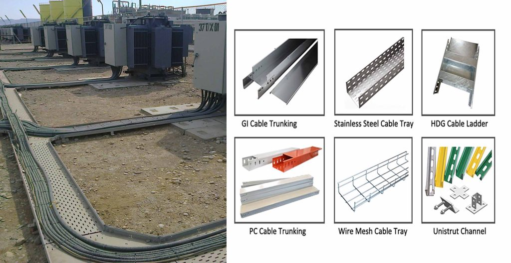 Difference Between Cable Tray Cable Ladder And Cable