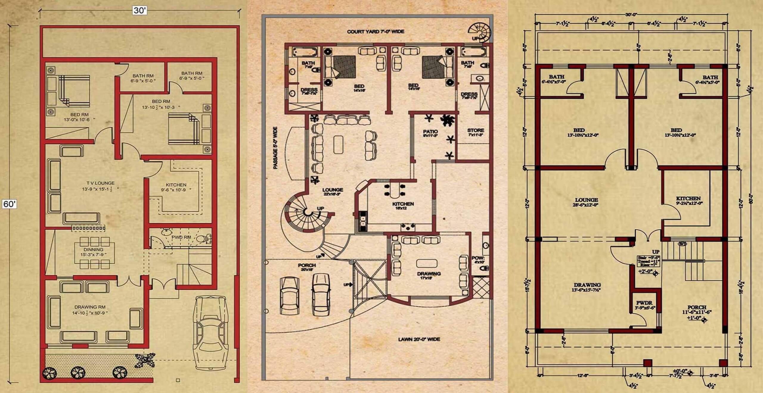 Beautiful House Floor Plans