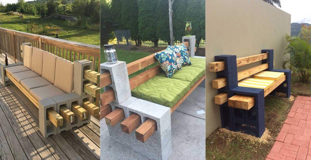 Top 40 Diy Cinder Block Outdoor Bench Engineering Discoveries