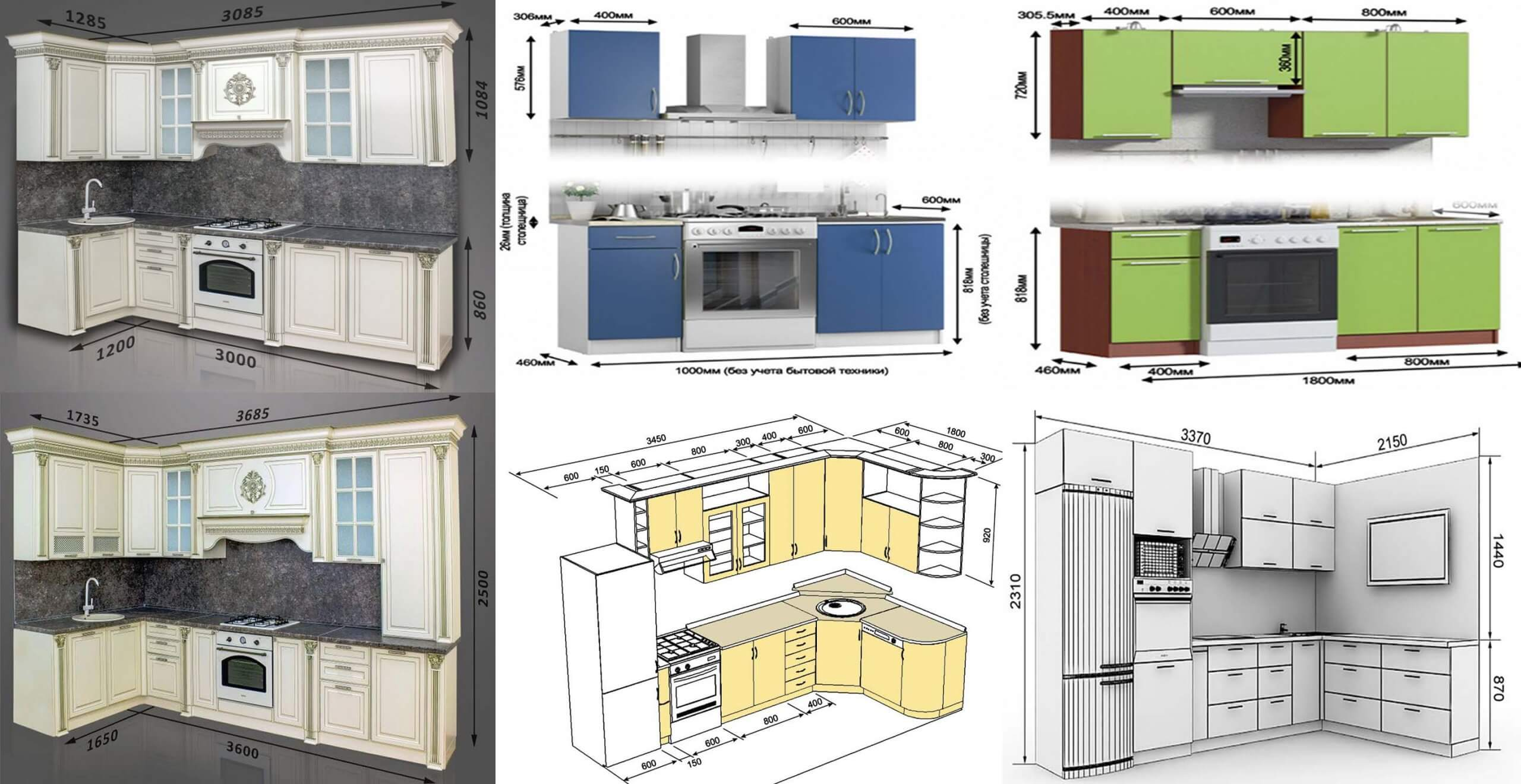 amazing standard kitchen dimensions  engineering discoveries
