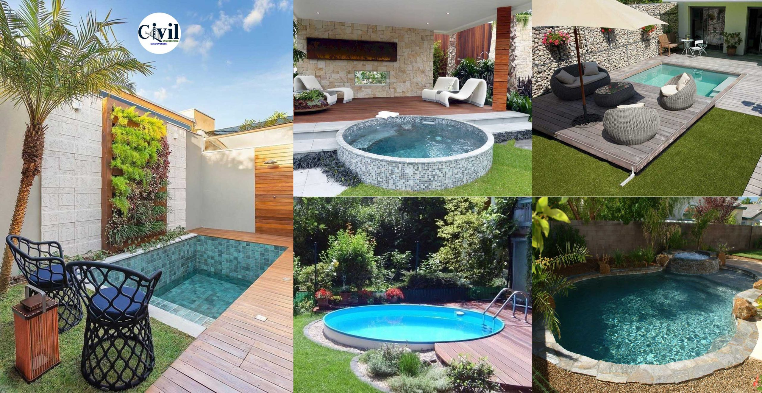 20 Lovely Small Swimming Pool Design Ideas To Get Natural Accent ...