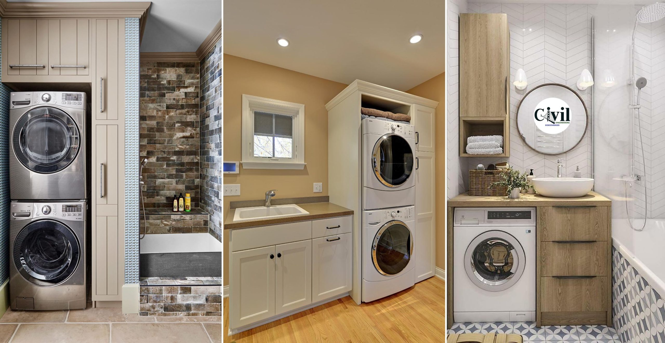 20 Brilliant Laundry Room Ideas For Small Spaces Practical And ...