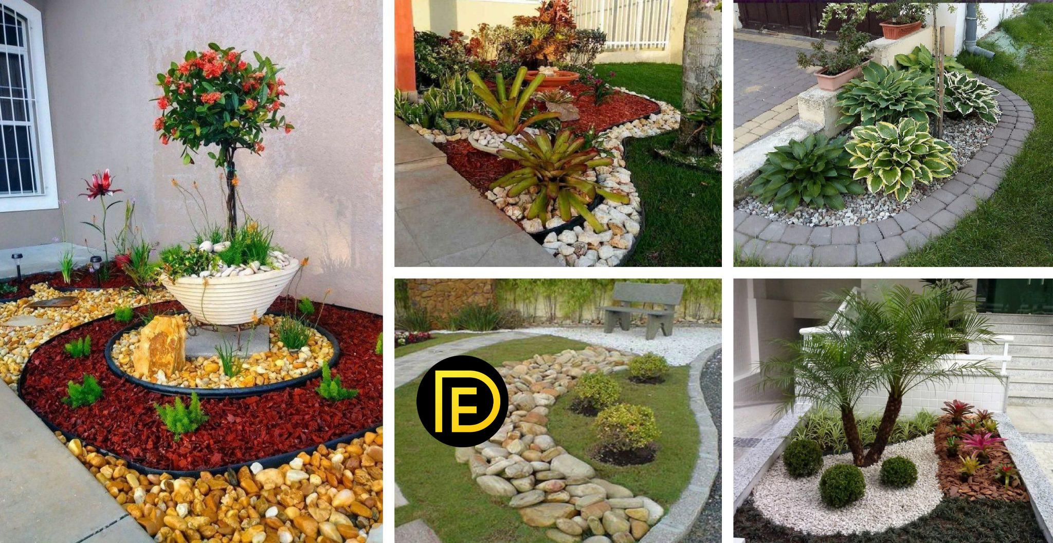 20+ River Rock Garden Ideas For Beautiful DIY Designs ...